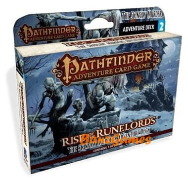Pathfinder Adventure: Rise of the Runelords- Deck 2: Skinsaw Murders