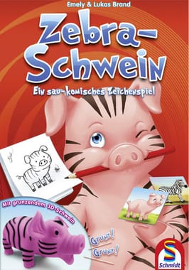 Zebra-Schwein
