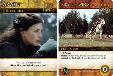 The Lord of the Rings: The Two Towers Deck-Building Game – Arwen (дополнение)
