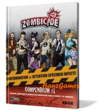 Zombicide Compendium - книга миссий для Zombicide (Французский)