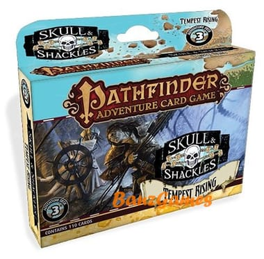 Pathfinder Adventure: Skull & Shackles - Adventure Deck 3: Tempest Rising (дополнение)