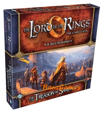 The Lord of the Rings: The Card Game - The Treason of Saruman Saga (дополнение)