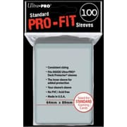 Протекторы Ultra Pro Sleeves Pro-Fit - 100count 64*89 Standart Gaming