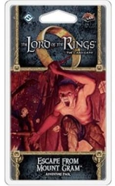The Lord of the Rings: The Card Game - Escape from Mount Gram Adventure Pack (дополнение)