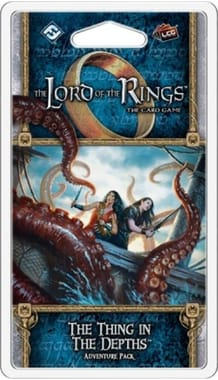 The Lord of the Rings: The Card Game – The Thing in the Depths Adventure Pack (дополнение)
