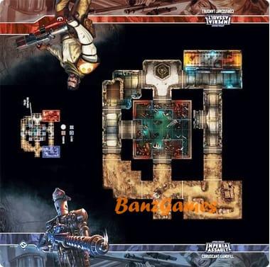 Star Wars: Imperial Assault – Coruscant Landfill Skirmish Map (поле)