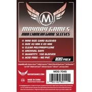 Протекторы Mayday Games Mini Chimera Game Sleeves 43 x 65 мм (100 шт)