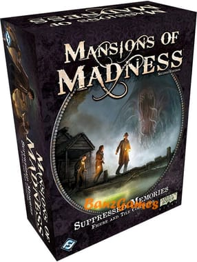 Mansions of Madness: Suppressed Memories Figure and Tile