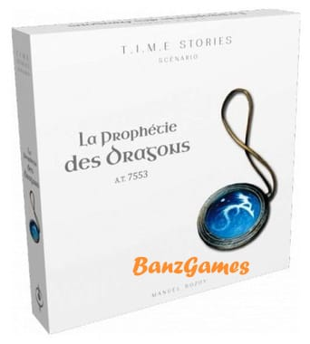 T. I. M. E Srories : La Prophétie Des Dragons (дополнение, французский язык)