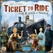 Настольные игра Ticket To Ride: Rails & Sails