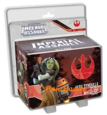 Star Wars: Imperial Assault – Hera Syndulla and C1-10P Ally Pack (дополнение)