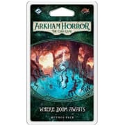 Arkham Horror: Card Game (Ужас Аркхэма. Карточная игра) - Where Doom Awaits Mythos Pack (дополнение)