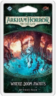 Arkham Horror: Card Game - Where Doom Awaits Mythos Pack (дополнение)