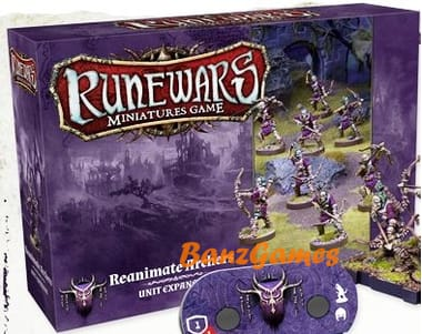 Runewars The Miniatures Game: Reanimate Archers Expansion Pack