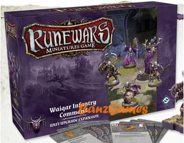 Runewars The Miniatures Game: Waiqar Infantry Command Expansion Pack