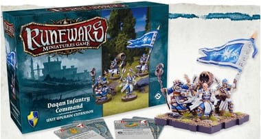 Runewars The Miniatures Game: Daqan Infantry Command Expansion Pack