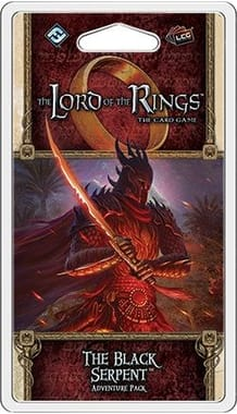 The Lord of the Rings: The Card Game - The Black Serpent Adventure Pack
