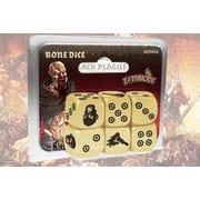 Кубики к настольной игре Zombicide: Black Plague (Bone Dice)