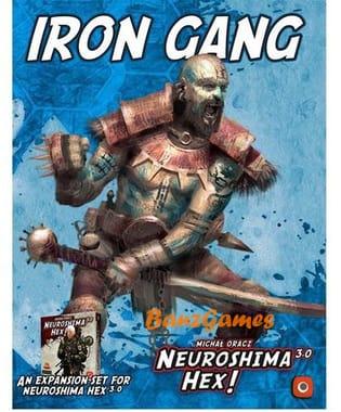 Neuroshima Hex 3.0: Iron Gang