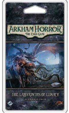 Arkham Horror: Card Game (Ужас Аркхэма. Карточная игра) - The Labyrinths of Lunacy Scenario Pack (дополнение)