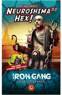 Neuroshima Hex 3.0:  Iron Gang Hexpuzzles Pack