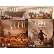 Набор игр: Серп + Захватчики из далёких земель + Небесный гамбит + Восхождение Фенриса