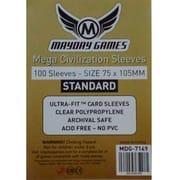 Протекторы Mayday Games Mega Civilization Sleeves  75 x 105 мм  (100 шт)