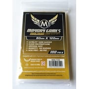 Протекторы MaydayGames Card Sleeves size 80*120 100шт для настольной игры Dixit
