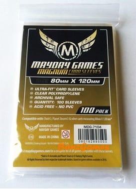 Протекторы MaydayGames Card Sleeves size 80*120 100шт для настольной игры Dixit