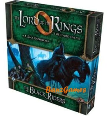 The Lord of the Rings: The Card Game - The Black Riders (Deluxe)
