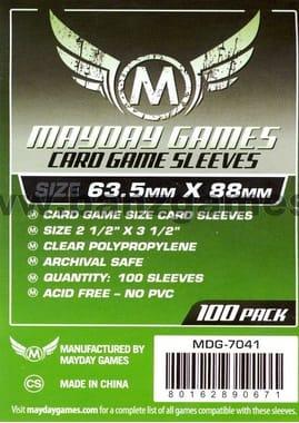 Протекторы Mayday Games Card Game Sleeves - 63.5 x 88 мм (100шт)