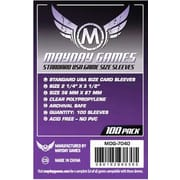 Протекторы Mayday Games Standard USA Card Sleeves - 56 x 87 мм (100шт)