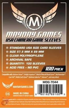 Протекторы Mayday Games USA Chimera Card Sleeves - 57.5 x 89 мм (100шт)