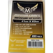 Протекторы Mayday Games Mini USA Card Sleeves - 41 x 63 мм (100шт)